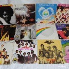 Discos de vinilo: LOTE 12 SINGLES MUSICA NEGRA AÑOS 80 MADE SPAIN EXCELENTE ESTADO EN LIQUIDACION VER MAS INFORMACION. Lote 211577227
