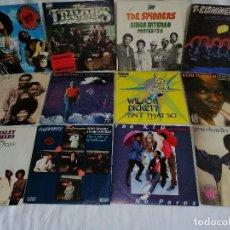 Discos de vinilo: LOTE 12 SINGLES MUSICA NEGRA AÑOS 80 SPAIN COMO NUEVOS EN LIQUIDACIÓN, VER MAS INFORMACION. Lote 211577506