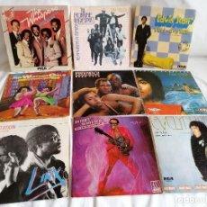Discos de vinilo: LOTE 9 SINGLES MUSICA NEGRA AÑOS 80 SPAIN EXCELENTE EN LIQUIDACION VER MAS INFORMACION. Lote 211577920