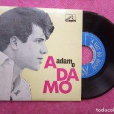 Discos de vinilo: EP ADAMO - VOUS PERMETTEZ, MONSIEUR? +3 - 7 LEM 3139 - PORTUGAL PRESS (NM/NM). Lote 211578257