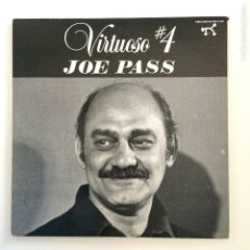 Discos de vinilo: JOE PASS ‎– VIRTUOSO #4 2LP USA 1983 PABLO RECORDS. Lote 211580110