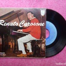 Discos de vinilo: EP RENATO CAROSONE - TRE GUAGLIUNE E NU MANDOLINO +3 - 430 710 - SPAIN PRESS (EX-/NM). Lote 211583112