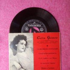 Discos de vinilo: EP CELIA GAMEZ - LA HECHICERA EN PALACIO - CGE 60.015 - 50'S (VG++/NM). Lote 211584037