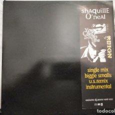 "Discos de vinilo: SHAQUILLE O'NEAL - YOU CAN'T STOP THE REIGN (12"", PROMO) 1997.MCA RECORDS WINT 95522. COMO NUEVO. Lote 211584556"
