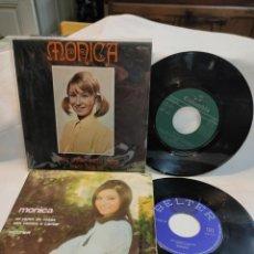 Discos de vinilo: MÓNICA 2 SINGLES DE COLECCIÓN. Lote 211585281