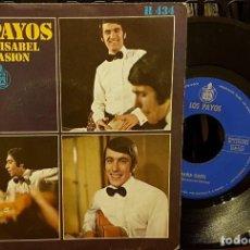 Discos de vinilo: LOS PAYOS - MARIA ISABEL - COMPASION. Lote 211585959
