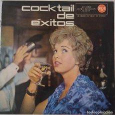 Discos de vinilo: COCKTAIL DE ÉXITOS. CHET ATKINS. PÉREZ PRADO. EARTHA KITT. GLEN MILLER... LP ESPAÑA ORIGINAL 1960. Lote 211590306