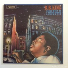 Discos de vinilo: B.B. KING – THERE MUST BE A BETTER WORLD SOMEWHERE USA 1981 MCA RECORDS. Lote 211594016