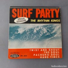 Disques de vinyle: THE RHYTHM KINGS - SURF PARTY EP:DISQUES VOGUE EPL. 8.133. Lote 211594466