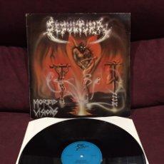 Discos de vinilo: SEPULTURA - MORBID VISIONS LP, PRIMERA EDICIÓN, MUY DIFÍCIL!!! OPORTUNIDAD ÚNICA!!!. Lote 211598960