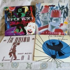 Discos de vinilo: LA UNION, LOTE 4 MAXIS AÑOS 80 EN MUY BUEN ESTADO DE USO. Lote 211599015