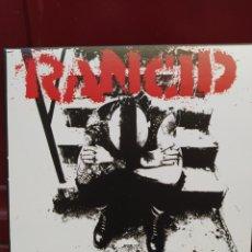 Discos de vinilo: RANCID - ...AND OUT COME THE WOLVES . LP VINILO NUEVO. PUNK - SKA. Lote 211599554