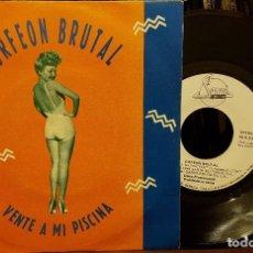 Discos de vinilo: ORFEON BRUTAL - VENTE A MI PISCINA. Lote 211603262