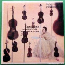 Discos de vinilo: VIOLINES MÁGICOS - VILLAFONTANA: VOL. I - LP - RCA (VENEZUELA) - 1955. Lote 211603914