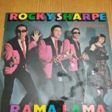 Discos de vinilo: DISCO VINILO LP ROCKY SHARPE AND THE REPLAYS. Lote 211604416