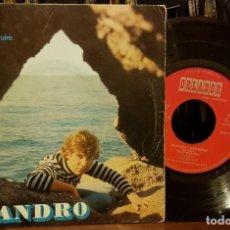 Discos de vinilo: LEANDRO - MI BARCA CONSTRI¡UIRE. Lote 211605922