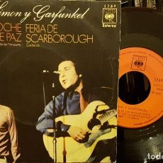 Discos de vinilo: SIMON AND GARFUNKEL - NOCHE DE PAZ - FERIA DE SCARBOROUGH. Lote 211606800