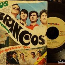 Discos de vinilo: LOS BRINCOS - YOU KNOW - NADIE TE QUIERE YA. Lote 211607270