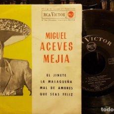 Discos de vinilo: MIGUEL ACEVES MEJIA - EL JINETE. Lote 211607831