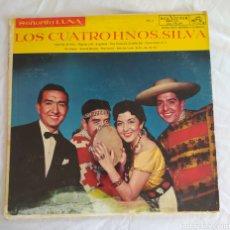 Discos de vinilo: LOS CUATRO HERMANOS SILVA.. Lote 211608081