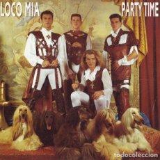 Discos de vinilo: LOCO MIA / PARTY TIME - SINGLE PROMO SPAIN 1993. Lote 211609454