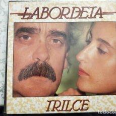 Discos de vinilo: LABORDETA* - TRILCE (LP, ALBUM) 1989.SELLO:FONOMUSIC CAT. Nº: 88.2020. COMO NUEVO. Lote 211611080