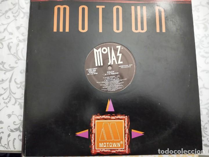 "FOLEY - ... IF IT'S POSITIVE (12"", PROMO) 1993.SELLO:MOJAZZ CAT. Nº: 3746310901. VINILO NUEVO (Música - Discos de Vinilo - Maxi Singles - Jazz, Jazz-Rock, Blues y R&B)"