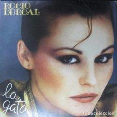 Discos de vinilo: ROCIO DURCAL - LA GATA - LP ARIOLA SPAIN 1982 PROMOCIONAL. Lote 211612312