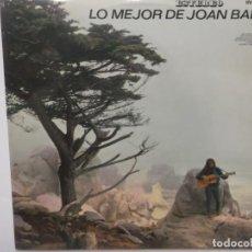 Discos de vinilo: LO MEJOR DE JOAN BAEZ-ORIGINAL AÑO 1965. Lote 211612646