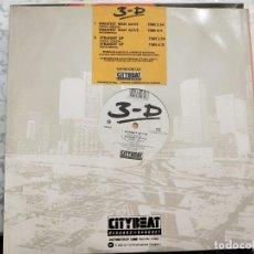 """Discos de vinilo: 3-D* - GREATEST MAN ALIVE / STRAIGHT UP (12"""") 1988. SELLO:CITY BEAT CAT. Nº: CBE 1231.COMO NUEVO. Lote 211613851"""