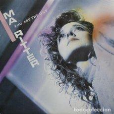 Discos de vinilo: MA RITTER – YOU ARE THE ONE - MAXI-SINGLE SPAIN 1987. Lote 211615925