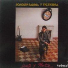 Discos de vinilo: JOAQUIN SABINA Y VICEVERSA-JUEZ Y PARTE-CONTIENE ENCARTE-VINILO EN BUEN ESTADO. Lote 211616344