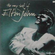 Discos de vinilo: THE VERY BEST OF ELTON JOHN-CONTIENE LOS ENCARTES-DOBLE LP. Lote 211616536