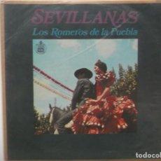 Discos de vinilo: LOS ROMEROS DE LA PUEBLA-SU PRIMER LP-ORIGINAL AÑO 1968. Lote 211616624