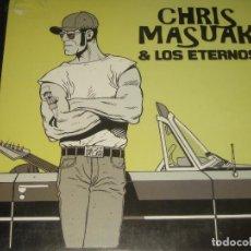 Discos de vinilo: CHRIS MASUAK - GRUPO ESPAÑOL PUNCK - VER FOTOS - EDICION LIMITADA 338 DE 500. Lote 211616825