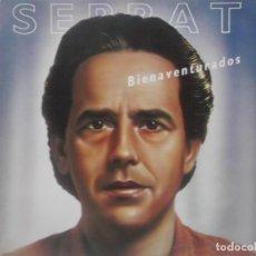 Discos de vinilo: JOAN MANUEL SERRAT-BIENAVENTURADOS-CONTIENE ENCARTE-MUY BUEN ESTADO. Lote 211616834