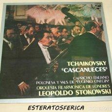 Discos de vinilo: TCHAIKOVSKY ORQUESTA FILARMÓNICA DE LONDRES, LEOPOLDO STOKOWSKI ?– CASCANUECES / CAPRICHO ITALIANO. Lote 211617032