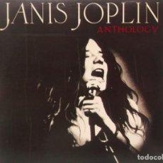 Discos de vinilo: JANIS JOPLIN-ANTHOLOGY-DOBLE LP-EDICION ESPAÑOLA. Lote 211617072
