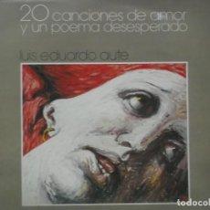 Discos de vinilo: LUIS EDUARDO AUTE-20 CANCIONES DE AMOR Y UN POEMA DESESPERADO-DOBLE LP. Lote 211617181