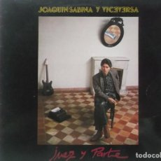 Discos de vinilo: JOAQUIN SABINA Y VICEVERSA-JUEZ Y PARTE-CONTIENE ENCARTE-EN BUEN ESTADO. Lote 211617572