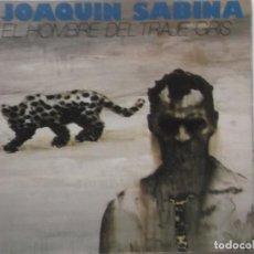 Discos de vinilo: JOAQUIN SABINA-EL HOMBRE DEL TRAJE GRIS-PORTADA ABIERTA-CONTIENE ENCARTE. Lote 211617897