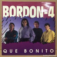 Discos de vinilo: LP BORDÓN 4 - QUE BONITO - ESPAÑA 1993. Lote 211618109