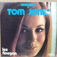 Discos de vinilo: LP HOMENAJE A TOM JONES - LEE FINEGAN - THE VALE ORCHESTRA, SINGERS & CHORUS. Lote 211618499