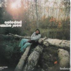 Discos de vinilo: EMILIO JOSE-SOLEDAD-ORIGINAL AÑO 1973. Lote 211619164