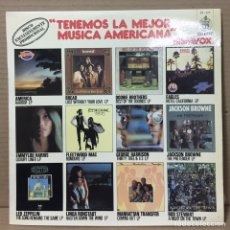 Discos de vinilo: LP VARIOS - TENEMOS LO MEJOR DE LA MUSICA AMERICANA - ED ESPAÑOLA 1977. Lote 211619174