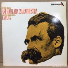 Discos de vinilo: LP ORQUESTA FILARMONICA VIENA KARAJAN RICHARD STRAUSS ASI HABLABA ZARATHUSTRA - ESPAÑA 1970. Lote 211619512
