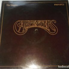 Discos de vinilo: THE CARPENTERS-THE SINGLES-EDICION ESPAÑOLA-CONTIENE ENCARTE. Lote 211619697