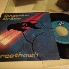 Discos de vinilo: TANGERINE DREAM SINGLE PROMOCIONAL STREETHAWK ESPAÑA 1985. Lote 211621412