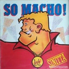 Discos de vinilo: SINITTA - SO MACHO - MAXI-SINGLE FONOMUSIC SPAIN 1986. Lote 211632214