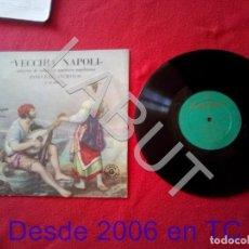 Discos de vinilo: AURELIO ROBERTO MUROLO VECCHIA NAPOLI CANCIÓN ITALIANA 250 GRS D1. Lote 211633016